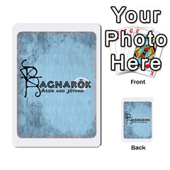 Ragnarokcardset By Pixatintes   Multi Purpose Cards (rectangle)   Vxnjvvki7xd7   Www Artscow Com Back 1
