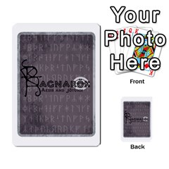 Ragnarokcardset By Pixatintes   Multi Purpose Cards (rectangle)   Vxnjvvki7xd7   Www Artscow Com Back 29