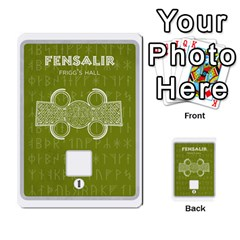 Ragnarokcardset By Pixatintes   Multi Purpose Cards (rectangle)   Vxnjvvki7xd7   Www Artscow Com Front 4