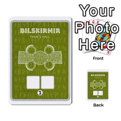 Ragnarokcardset By Pixatintes   Multi Purpose Cards (rectangle)   Vxnjvvki7xd7   Www Artscow Com Front 5