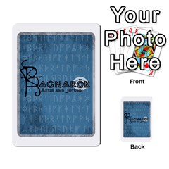 Ragnarokcardset By Pixatintes   Multi Purpose Cards (rectangle)   Vxnjvvki7xd7   Www Artscow Com Back 50