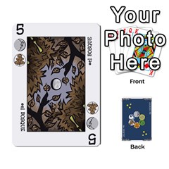 Decktet Español By Pixatintes   Playing Cards 54 Designs   B8h3t7caj6fh   Www Artscow Com Front - Club3