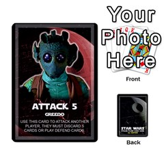 Star Wars Second Edition Game By Pixatintes   Playing Cards 54 Designs   Y31v8eizx5o4   Www Artscow Com Front - Spade2