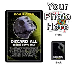 Star Wars Second Edition Game By Pixatintes   Playing Cards 54 Designs   Y31v8eizx5o4   Www Artscow Com Front - Diamond9