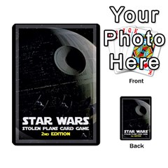 Star Wars Second Edition Game By Pixatintes   Playing Cards 54 Designs   Y31v8eizx5o4   Www Artscow Com Back