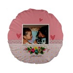 15  Premium Round Cushion : Friends Forever - Standard 15  Premium Round Cushion