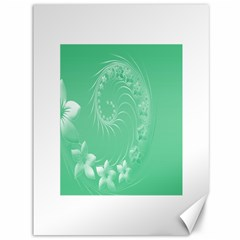 10   Light Green Flowers Canvas 36  X 48  (unframed) by BestCustomGiftsForYou