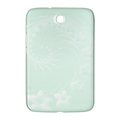 Pastel Green Abstract Flowers Samsung Galaxy Note 8.0 N5100 Hardshell Case