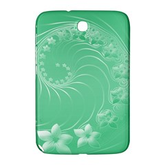 Light Green Abstract Flowers Samsung Galaxy Note 8 0 N5100 Hardshell Case  by BestCustomGiftsForYou