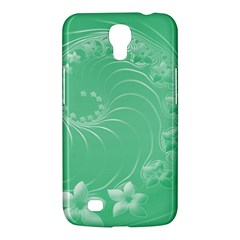 Light Green Abstract Flowers Samsung Mega 6 3  I9200 by BestCustomGiftsForYou