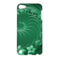 Green Abstract Flowers Apple Ipod Touch 5 Hardshell Case by BestCustomGiftsForYou