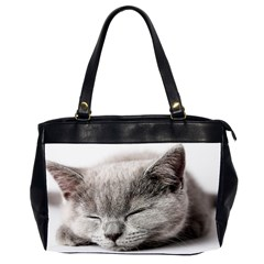 Cat By Divad Brown   Oversize Office Handbag (2 Sides)   C44jt6a9vofa   Www Artscow Com Front