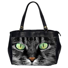 Cat By Divad Brown   Oversize Office Handbag (2 Sides)   7rf2mtqycbsx   Www Artscow Com Front