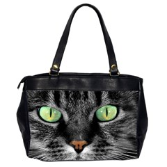 Cat By Divad Brown   Oversize Office Handbag (2 Sides)   7rf2mtqycbsx   Www Artscow Com Back