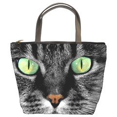 Cat By Divad Brown   Bucket Bag   Ogq5o5azcpo7   Www Artscow Com Front