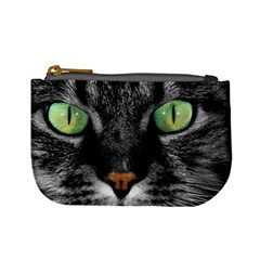 Cat By Divad Brown   Mini Coin Purse   3ka61skyt9pc   Www Artscow Com Front