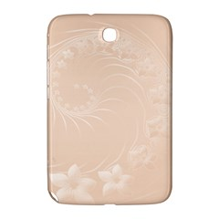 Pastel Brown Abstract Flowers Samsung Galaxy Note 8 0 N5100 Hardshell Case  by BestCustomGiftsForYou