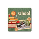 back to school - Magnet (Square)