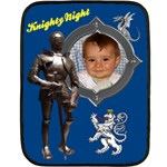 Knighty Night Blanket - Fleece Blanket (Mini)