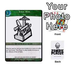 Zombieplaguebase By Michael   Playing Cards 54 Designs   Lhtg2qe9eriq   Www Artscow Com Front - Club9
