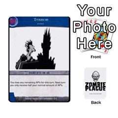 Ace Zombieplaguebase By Michael   Playing Cards 54 Designs   Lhtg2qe9eriq   Www Artscow Com Front - ClubA