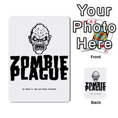 Zombieplaguebase By Michael   Playing Cards 54 Designs   Lhtg2qe9eriq   Www Artscow Com Back