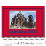 A little Perfect Wall Calendar 11x8.5 - Wall Calendar 11  x 8.5  (12-Months)