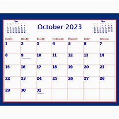 A Little Perfect Wall Calendar 11x8 5 By Deborah   Wall Calendar 11  X 8 5  (12 Months)   X6y2supgsz21   Www Artscow Com Oct 2017