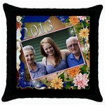 My 2013 Throw Cushion - Throw Pillow Case (Black)