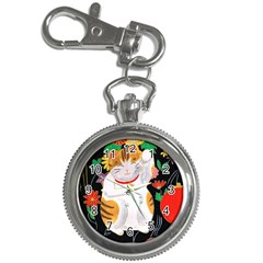 Maneki Neko Key Chain & Watch