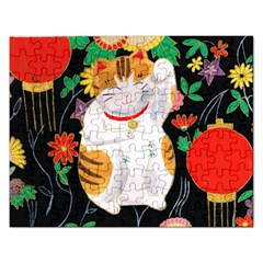 Maneki Neko Jigsaw Puzzle (rectangle) by TabbyCatStudios