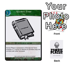 Queen Zombie Plague Card Compilation By Michael   Playing Cards 54 Designs   7t5fpo73e6bd   Www Artscow Com Front - ClubQ
