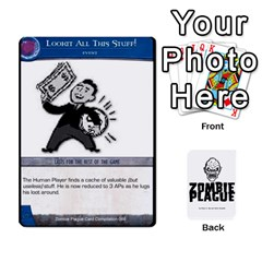 Ace Zombie Plague New Cards By Michael   Playing Cards 54 Designs   Qhje0c0i04pl   Www Artscow Com Front - SpadeA
