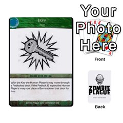 Zombie Plague New Cards By Michael   Playing Cards 54 Designs   Qhje0c0i04pl   Www Artscow Com Front - Heart3