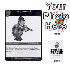 Zombie Plague New Cards By Michael   Playing Cards 54 Designs   Qhje0c0i04pl   Www Artscow Com Front - Heart5