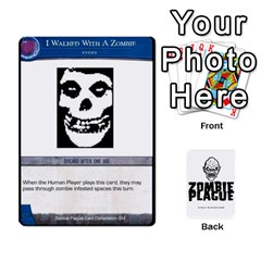 Zombie Plague New Cards By Michael   Playing Cards 54 Designs   Qhje0c0i04pl   Www Artscow Com Front - Heart6