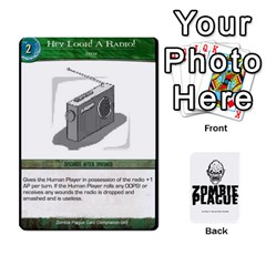 Zombie Plague New Cards By Michael   Playing Cards 54 Designs   Qhje0c0i04pl   Www Artscow Com Front - Heart9