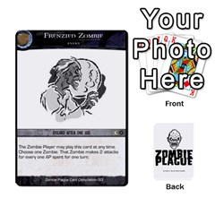 Zombie Plague New Cards By Michael   Playing Cards 54 Designs   Qhje0c0i04pl   Www Artscow Com Front - Diamond3