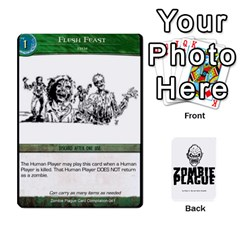 Zombie Plague New Cards By Michael   Playing Cards 54 Designs   Qhje0c0i04pl   Www Artscow Com Front - Diamond4