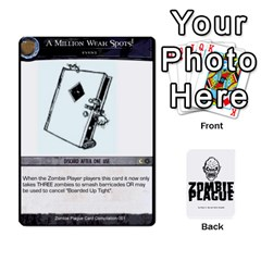 Jack Zombie Plague New Cards By Michael   Playing Cards 54 Designs   Qhje0c0i04pl   Www Artscow Com Front - DiamondJ