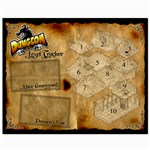 Dungeon Roll playmat - Canvas 8  x 10