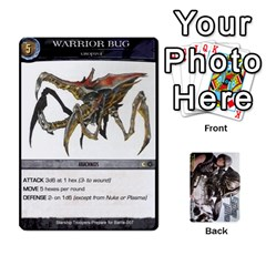 Starship Troopers Prepare For Battle Deck By Michael   Playing Cards 54 Designs   Z252jm23jd2m   Www Artscow Com Front - Spade2