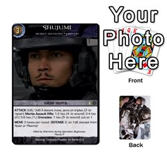 Jack Starship Troopers Prepare For Battle Deck By Michael   Playing Cards 54 Designs   Z252jm23jd2m   Www Artscow Com Front - HeartJ