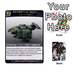 Queen Starship Troopers Prepare For Battle Deck By Michael   Playing Cards 54 Designs   Z252jm23jd2m   Www Artscow Com Front - HeartQ