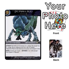Starship Troopers Prepare For Battle Deck By Michael   Playing Cards 54 Designs   Z252jm23jd2m   Www Artscow Com Front - Diamond2