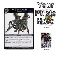 Starship Troopers Prepare For Battle Deck By Michael   Playing Cards 54 Designs   Z252jm23jd2m   Www Artscow Com Front - Diamond5