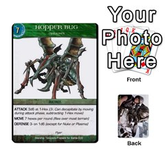 Starship Troopers Prepare For Battle Deck By Michael   Playing Cards 54 Designs   Z252jm23jd2m   Www Artscow Com Front - Diamond6