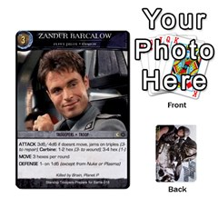 Starship Troopers Prepare For Battle Deck By Michael   Playing Cards 54 Designs   Z252jm23jd2m   Www Artscow Com Front - Spade7