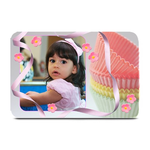 Cupcake Cups Plate Mat By Ivelyn   Plate Mat   Y9xcexkw5ezq   Www Artscow Com 18 x12 Plate Mat - 1