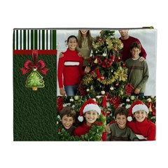 Merry Christmas By Merry Christmas   Cosmetic Bag (xl)   J3k7v0imhaa5   Www Artscow Com Back